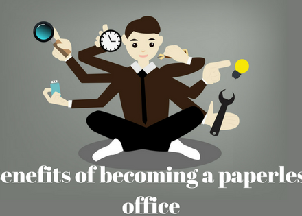 Benefits of becoming a paperless office